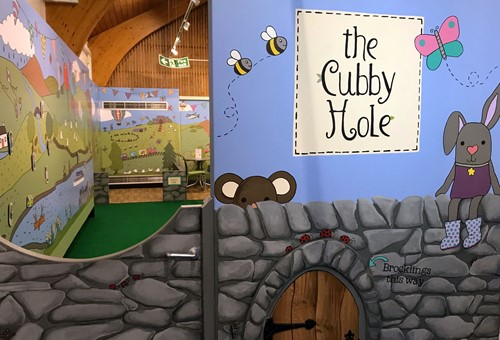 Soft play area, Brockhole, Cubby hle