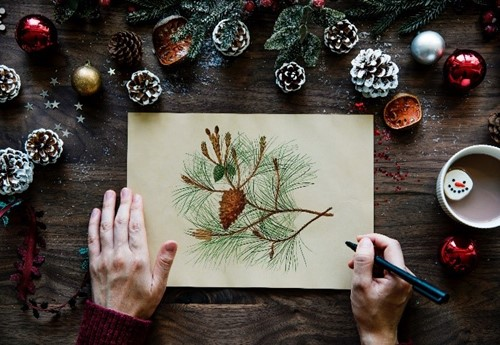 Art And Crafts Class For Adults December Lake District National Park
